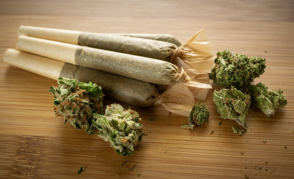 Cannabis pre-rolled joint picture